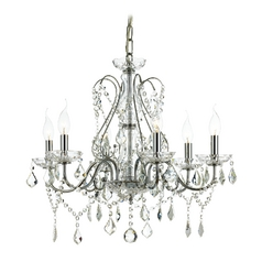 Ashford Classics Lighting Crystal Chandelier with Six Lights 2250