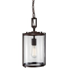 Minka Lighting Ladera Alder Bronze Outdoor Hanging Light