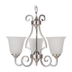 Craftmade Lighting Cecilia Brushed Satin Nickel Mini-Chandelier