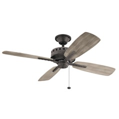 52-Inch 4 Blade  Ceiling Fan Weathered Zinc by Kichler Lighting