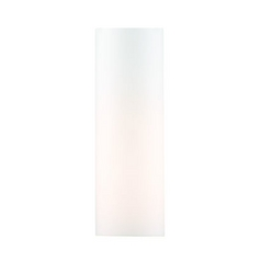 Super White Cylindrical Glass Shade