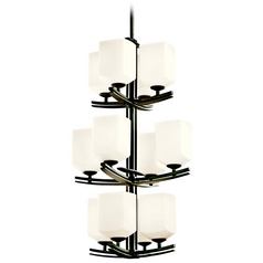 Kichler Lighting Kichler 12-Light Three-Tier Transitional Chandelier 42292AVI