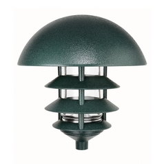 Path Light in Verde Green Finish