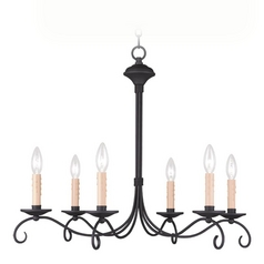 Livex Lighting Heritage Black Chandelier