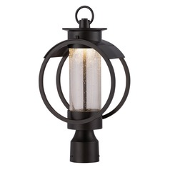 Designers Fountain Arbor Burnished Bronze LED Post Light