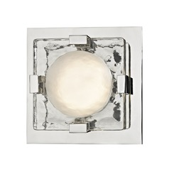 Hudson Valley Lighting Bourne Polished Nickel LED Sconce