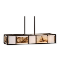 Modern Island Light in Oil Rubbed Bronze Finish
