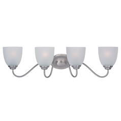 Maxim Lighting Stefan Satin Nickel Bathroom Light