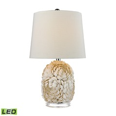 Dimond Lighting Natural Shell LED Table Lamp with Empire Shade
