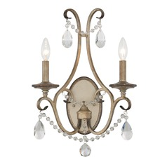 Designers Fountain Gala Argent Silver Sconce