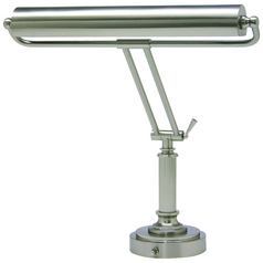 House of Troy Lighting Piano / Banker Lamp in Satin Nickel Finish P15-80-52
