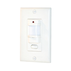 Vacancy and Occupancy Sensor in Ivory Finish - 800W