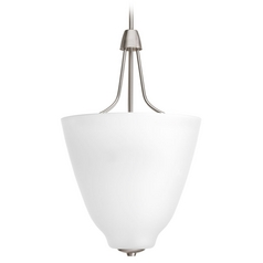 Progress Lighting Asset Brushed Nickel Pendant Light