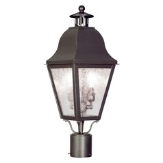 Livex Lighting Amwell Bronze Post Light