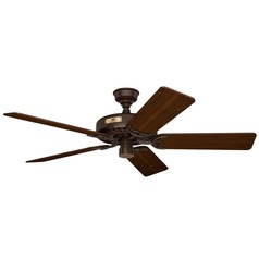 Hunter Fan Company Original Chestnut Brown Ceiling Fan Without Light