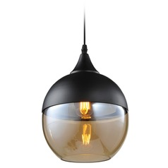 Avenue Lighting Robertson Blvd. Black Mini-Pendant Light