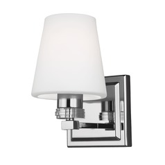 Feiss Lighting Rouen Polished Nickel Sconce