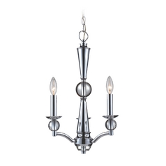 Mini-Chandelier in Polished Chrome Finish