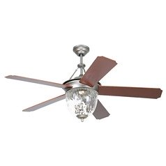 Craftmade Cavalier Pewter Ceiling Fan with Light