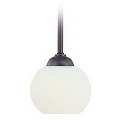 Dolan Designs Lighting Bolivian Mini-Pendant with White Glass 2871-78