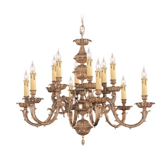 Chandelier in Olde Brass Finish