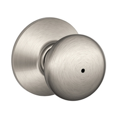 Schlage Rounded Knob Privacy Lock SH F40N-PLY-619