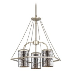 Progress Lighting Indi Silver Ridge Chandelier