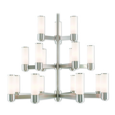 Livex Lighting Weston Brushed Nickel Chandelier