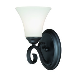 Belleville Oil Rubbed Bronze Sconce by Vaxcel Lighting