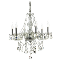 Ashford Classics Lighting Traditional Crystal Chandelier with Six Lights 2251