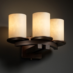 Justice Design Group Clouds Collection Sconce