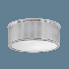 Norwell Lighting Sandra Polished Nickel Flushmount Light