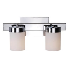 Kenroy Home Eastlake Chrome Bathroom Light
