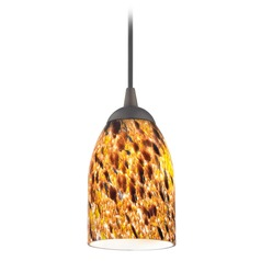 Design Classics Gala Fuse Neuvelle Bronze LED Mini-Pendant Light with Bowl / Dome Shade