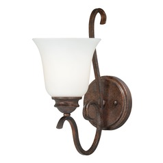 Hartford Weathered Patina Sconce by Vaxcel Lighting