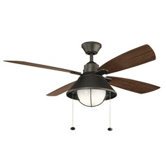 52-Inch 4 Blade LED Ceiling Fan with Light Olde Bronze by Kichler Lighting