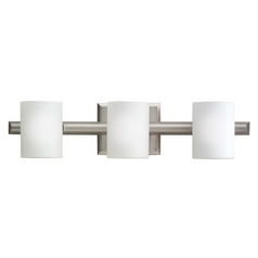 Kichler Modern Bathroom Light in Brushed Nickel Finish