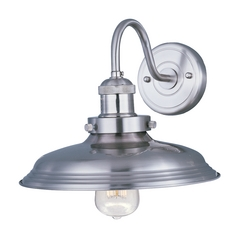 Maxim Lighting Mini Hi-Bay Satin Nickel Sconce