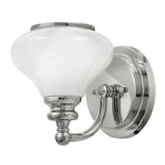 Hinkley Lighting Ainsley Polished Nickel Sconce