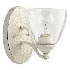 Quorum Lighting Brooks Persian White Sconce