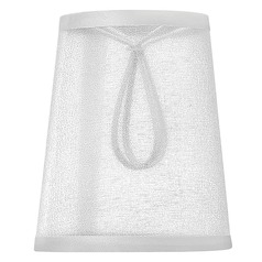 Organza Shade Coolie Lamp Shade with Clip-On Assembly