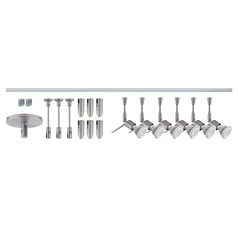 Besa Lighting Tipster Satin Nickel LED Rail Kit