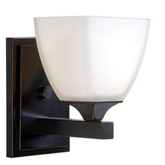 Kenroy Home Helix Oil Rubbed Bronze Sconce