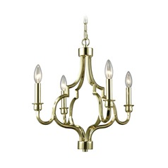 Elk Lighting Livonia Polished Gold Mini-Chandelier