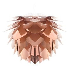 UMAGE White Pendant Light with Abstract Shade