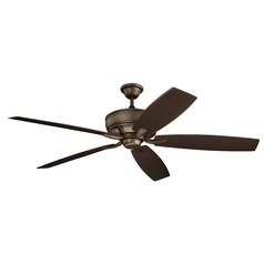 70-Inch 5 Blade  Ceiling Fan Weathered Copper by Kichler Lighting