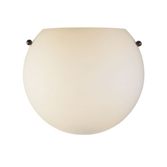 Single-Light Sconce with Bronze/Satin Nickel Hardware