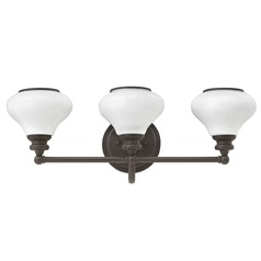 Hinkley Lighting Ainsley Buckeye Bronze Bathroom Light