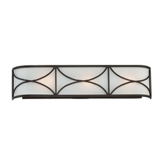 Designers Fountain Avara Oil Rubbed Bronze Bathroom Light