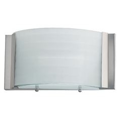 Quorum Lighting Satin Nickel Sconce